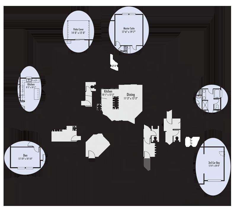 The Lewisville Custom Home Floor Plan Adair Homes