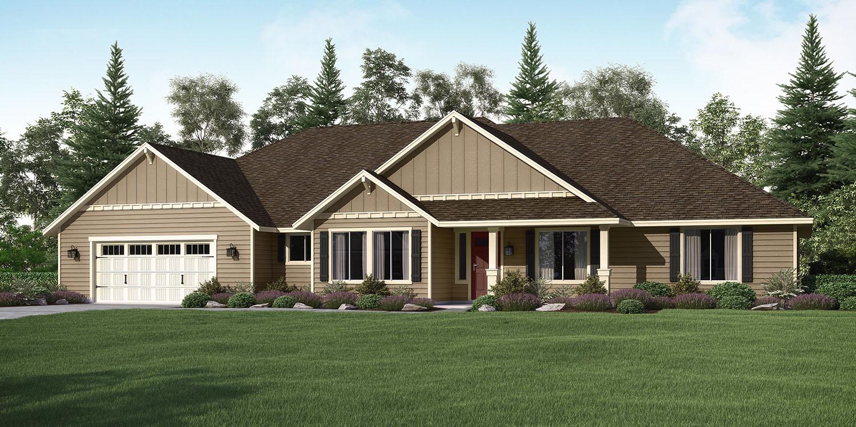 The aspen custom home floor plan adair homes for Aspen house plans