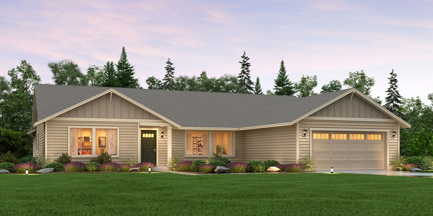 The st helens custom home floor plan adair homes for Adair home plans